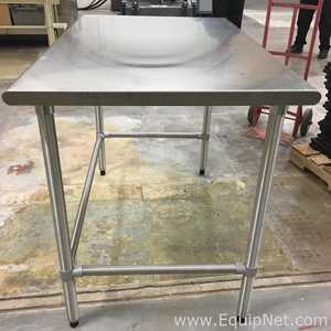 Foot Stainless Steel Table Listing - 4 foot stainless steel table