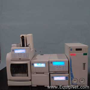 Dionex HPLC System With 2 Electrochemical Detectors