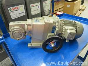 Stober R17 W0-1000-037-4  Adjustable Gear Motor Drive