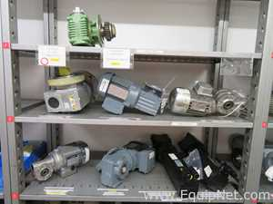 Lot of 8 Miscellaneous Gearbox Motor Drives