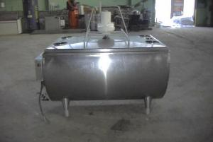 #292762 De Laval 250 Gallon Stainless Steel T