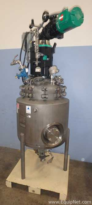 Precision Stainless 50 Gallon Inconel 600 Jacketed Reactor With Flat-Blade Turbine Agitation