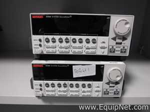 Lot of 2 Keithley 2636 Source Meters