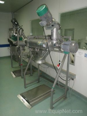 Ceram TS3 Sieving and powder handling system