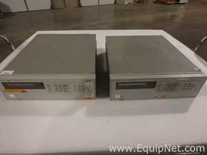 Lot of 2 Agilent Technologies 6624A System DC Power Supplies