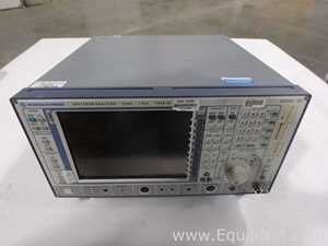 Rohde and Schwarz FSEB 20 Spectrum Anazlyer