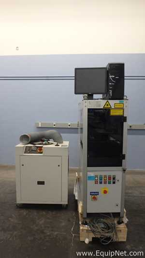 VideoJet 3120 - IP54 Laser Marking System with Thermal Solutions TCU30/561 Spot-Cooler