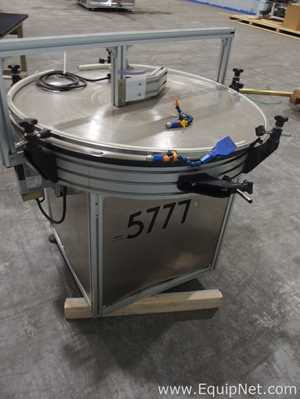 MK Automation 38 inch Diameter Rotary Table