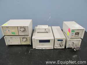 Lot of Gilson HPLC Components