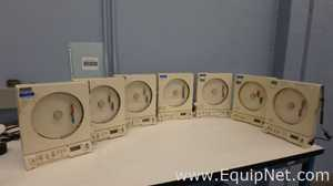 Lot of 7 OMEGA ENGINEERING CT485B Temperature and Humidity Chart Recorders