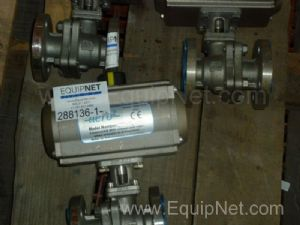 #310494 Lot of 14 Actuated Ball Valves