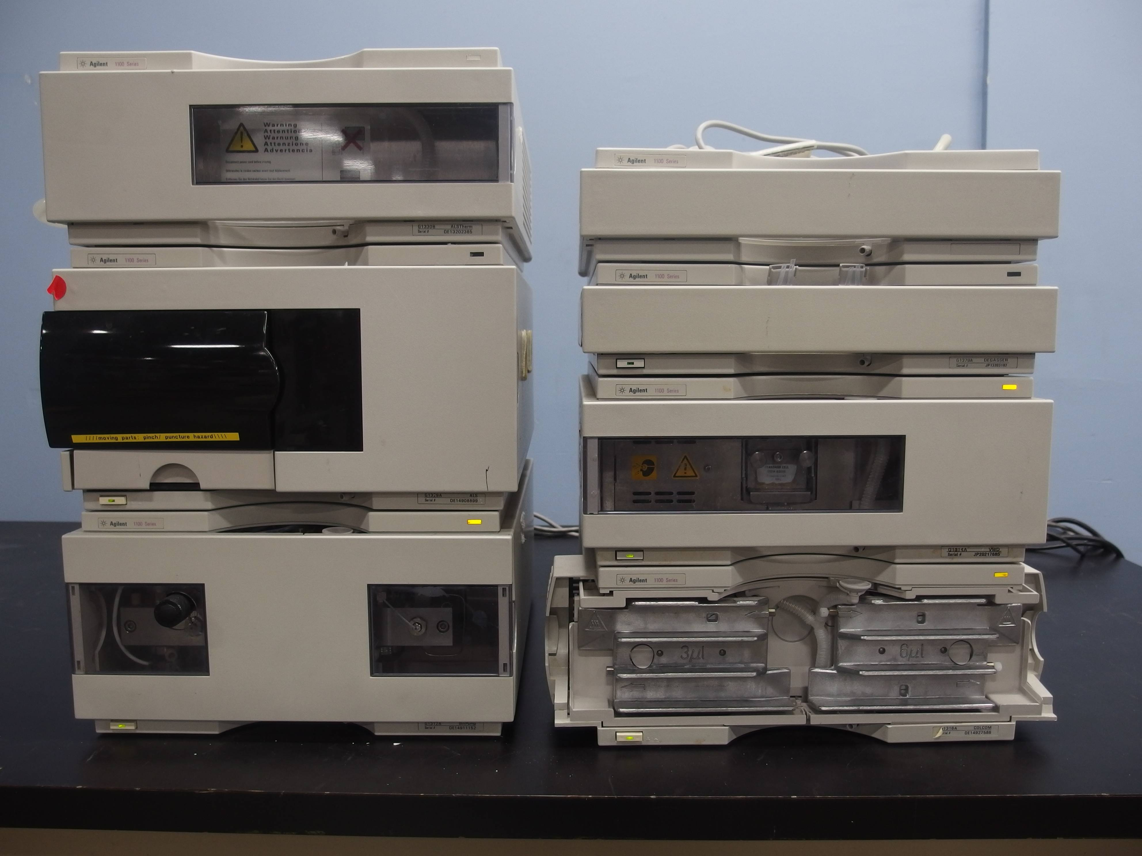 Agilent 1100 Series HPLC System With VWD Detector
