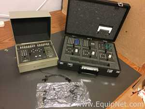 HP 16058A Test Fixture and assessories with carrying case