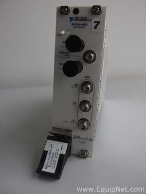National Instruments NI PXIe 5653 RF Synthesizer