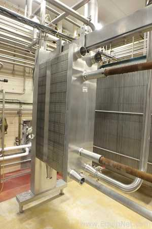 APV Crepaco Steel Framed Plate Press Heat Exchanger