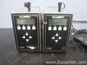Lot of 2 Climet CI-40 Particle Counter