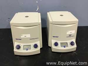 Lot of 2 Eppendorf 5415 D Benchtop Centrifuge