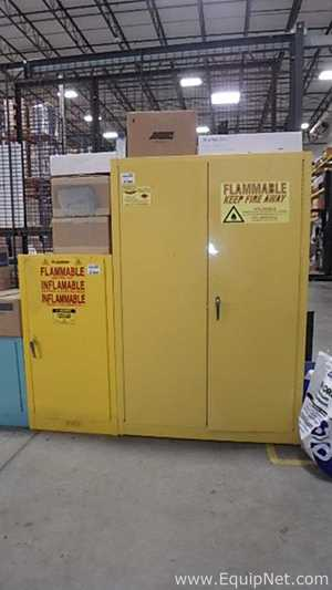 JustRite and Eagle 1947 and RM8246 Flammable Storage Cabinets
