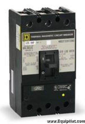 #87727 225 Amp Square D Circuit Breaker