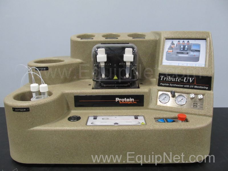 Protein Technologies Tribute-UV Peptide Synthesizer with UV Monitoring