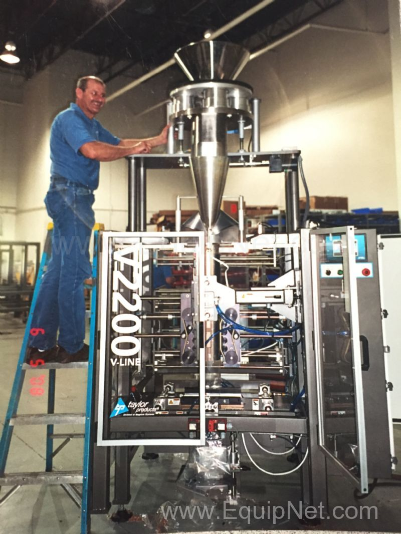 Vertical Form Fill Seal Machines From Taylor Products