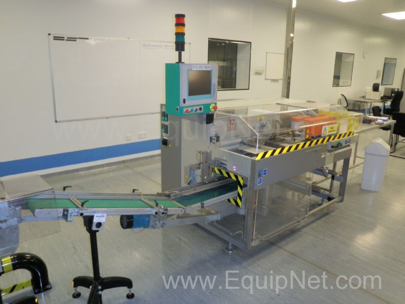 Marchesini MF 910 Mini Auto Bundler Overwrapping Machine