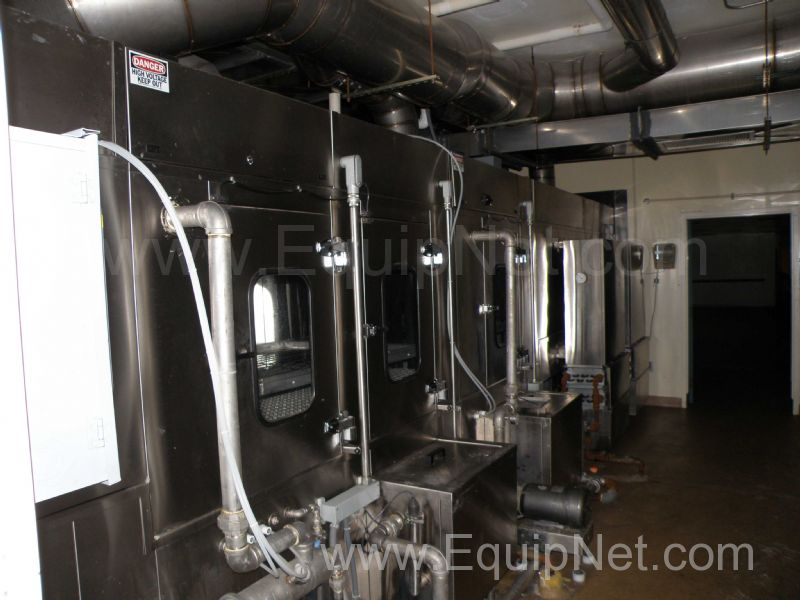 MTP Custom Machinery Model 2200 Tunnel Cage and Utensil Washer