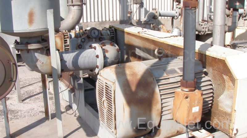 Lot of 2 Roots Blower System 150 HP Rotary Blowers