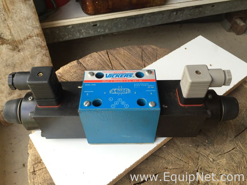 Vickers Hydraulic Proportional Solenoid Valves Listing #526996