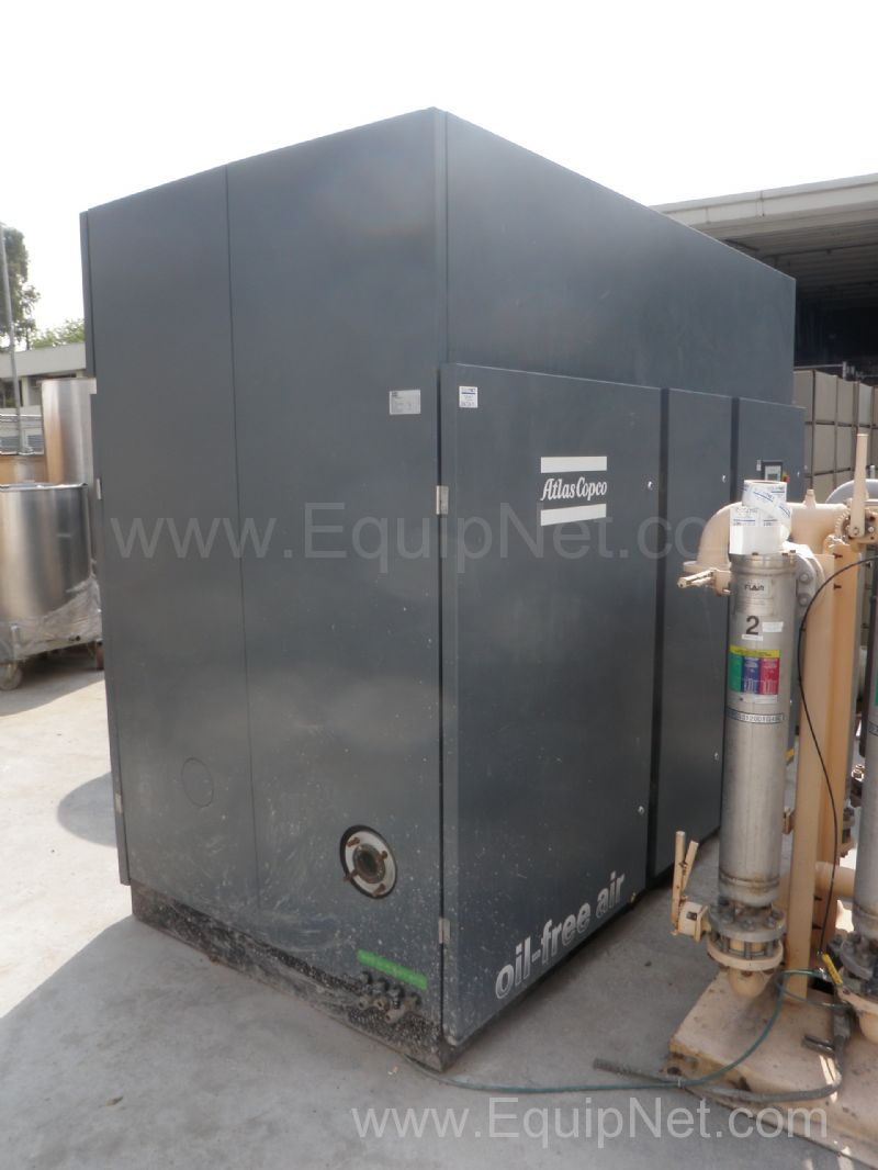 Atlas Copco Model ZT250 Variable Speed Drive Oil Free Air Compressor
