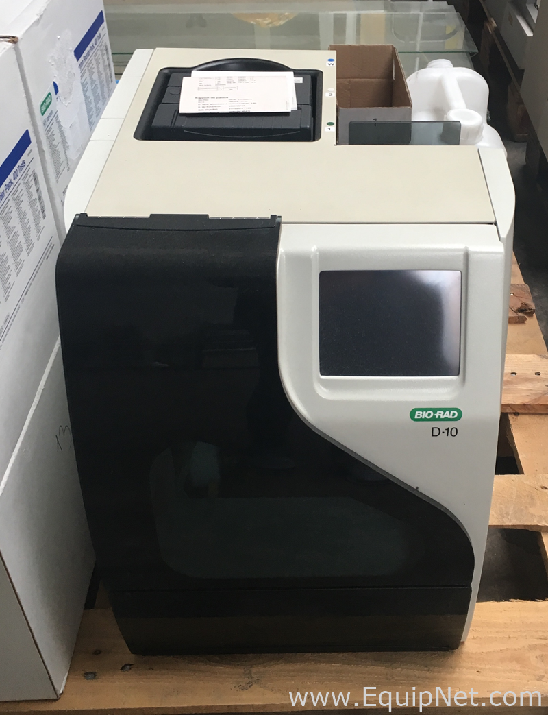 Biorad D10 Fully Automated Hemoglobin Testing System