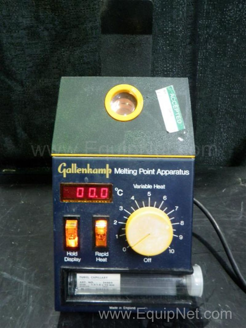 Gallenkamp Melting Point Apparatus