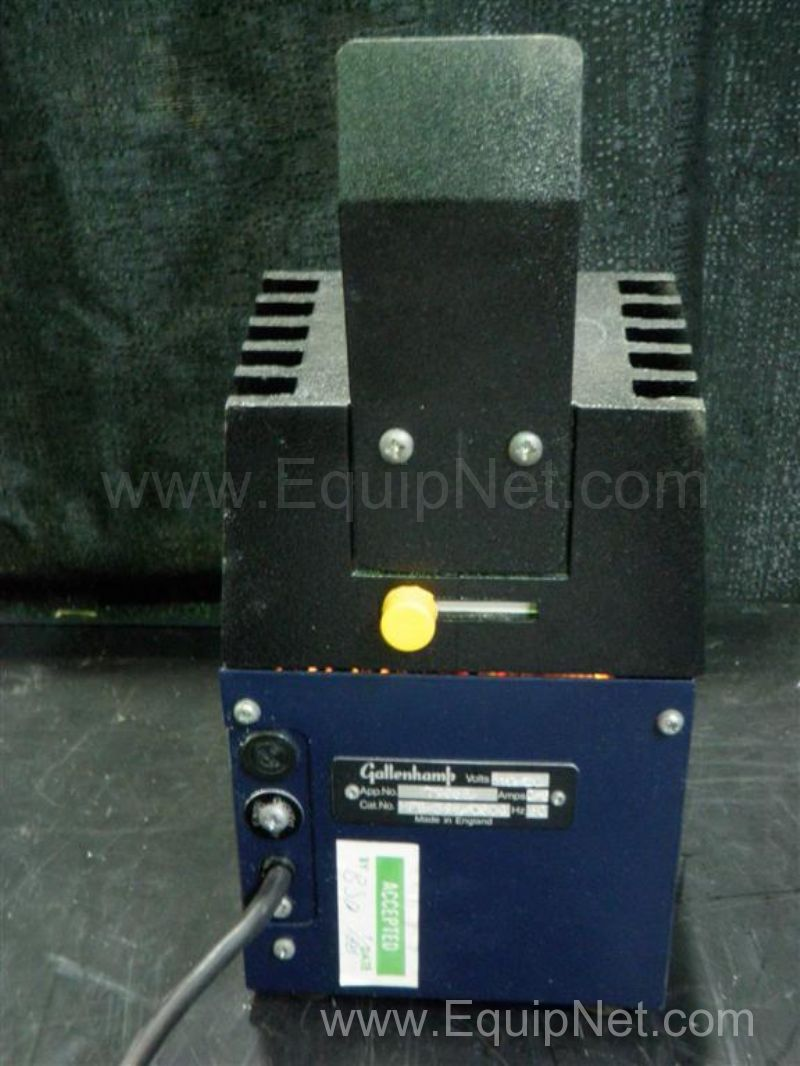 Gallenkamp Melting Point Apparatus Listing #240258
