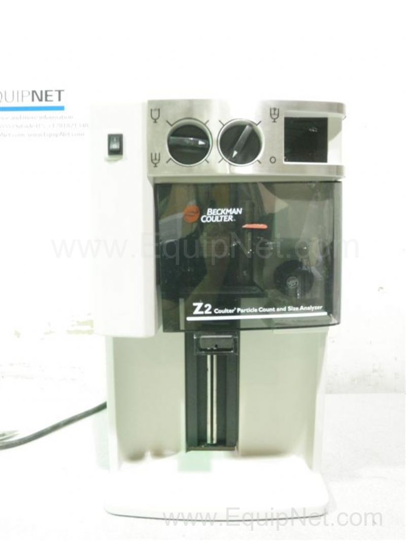 Beckman Coulter Z2 Particle Counter and Size Analyzer