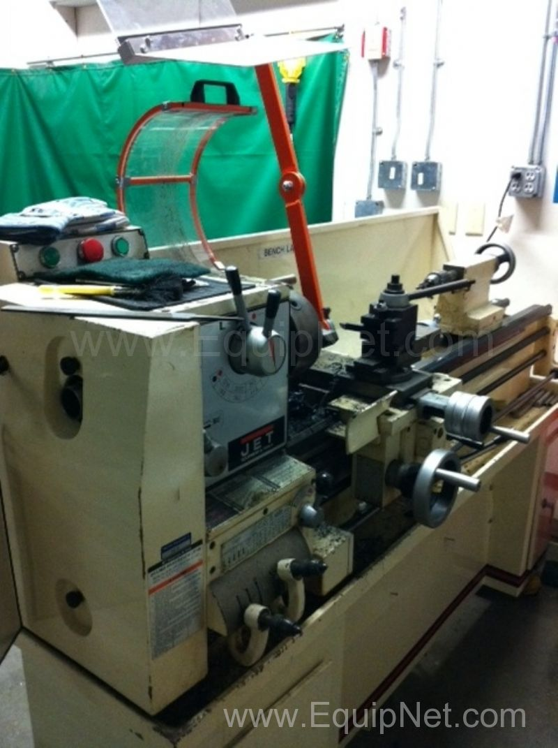 Jet GHB-1340 Geared Head Bench Lathe with Stand