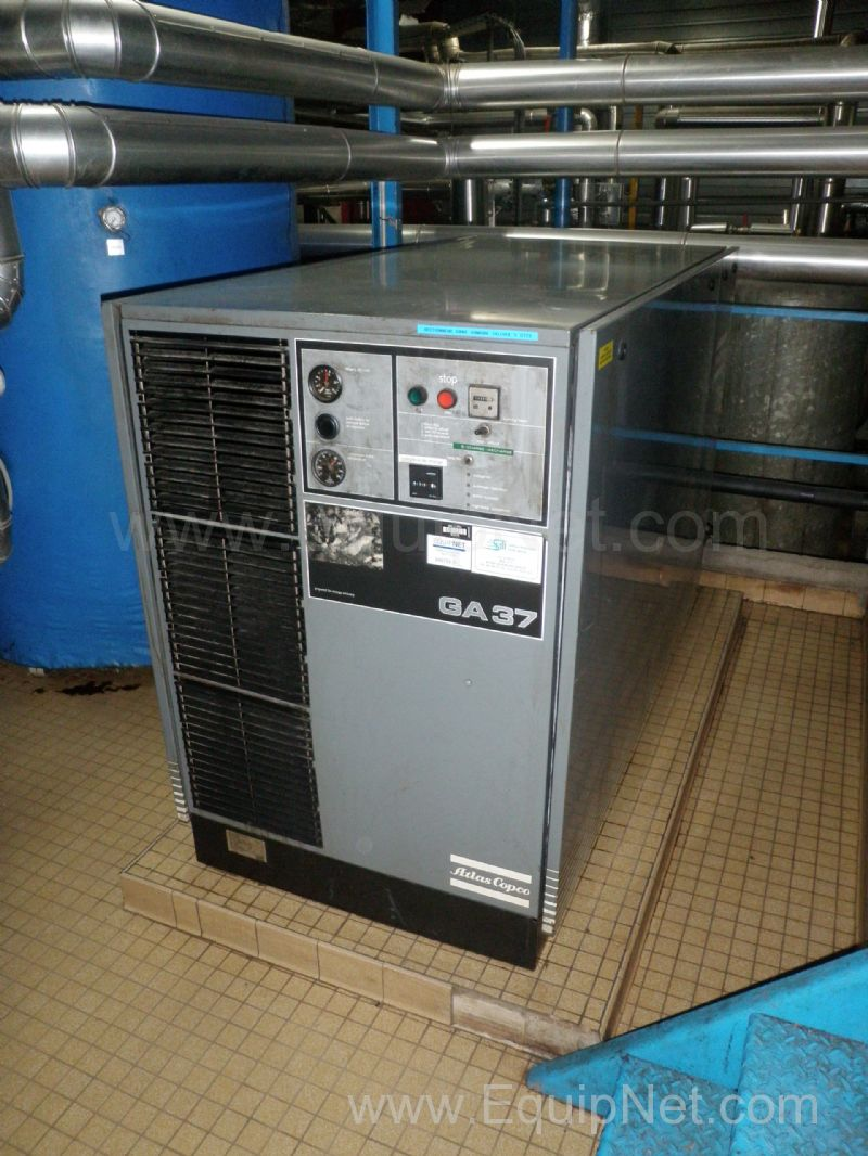 Atlas Copco GA 37 Skid mounted Air Compressor