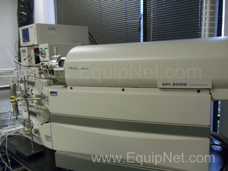 Applied Biosystems  API 2000 Mass Spectrometer with Shimadzu HPLC