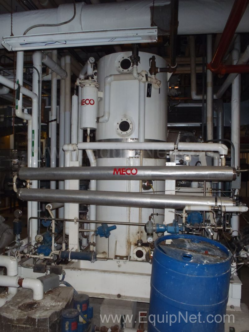 MECO 200 Gallon Per Hour WFI Vapor Compression - Distillation Still