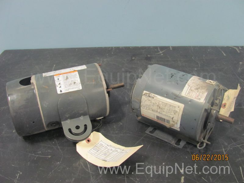 Lot of 2 assorted 25 hp electric motors listing 474844 for Century electric motor serial number lookup