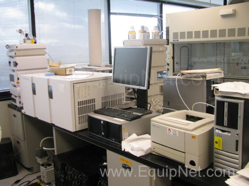 Agilent 6410 Triple Quad Mass Spectrometer with 1100/1200 HPLC System
