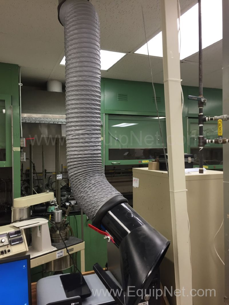 Extractor Fan Lab : Nederman laboratory fume extraction arm listing