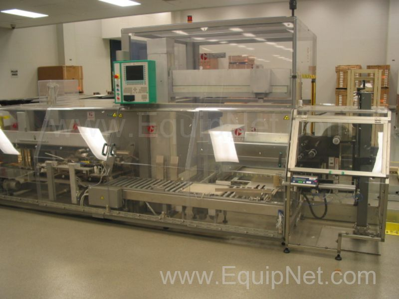 Marchesini Model MCP840 Case Packer and Palletizer