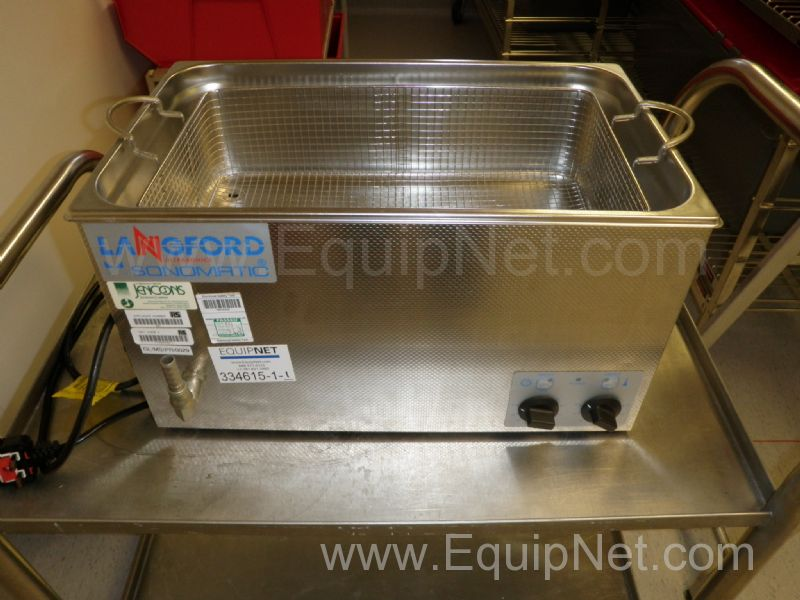 Langford Ultrasonics 52200 Sonomatic 22 Litre Stainless Steel Ultrasonic Waterbath