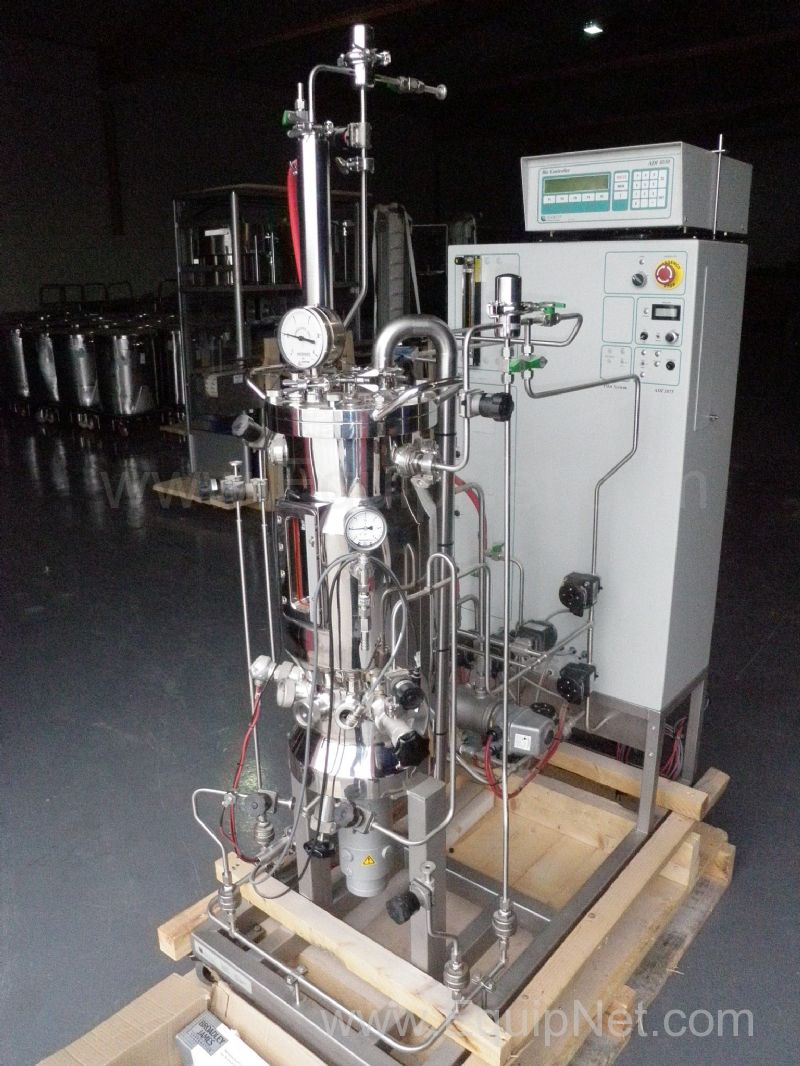 Applikon Pilot System 20 Unused Mobile 20 Litre Stainless steel BioReactor Skid