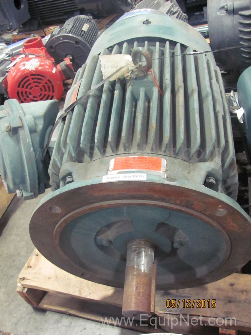 472210 Reliance 40 Hp Electric Motor