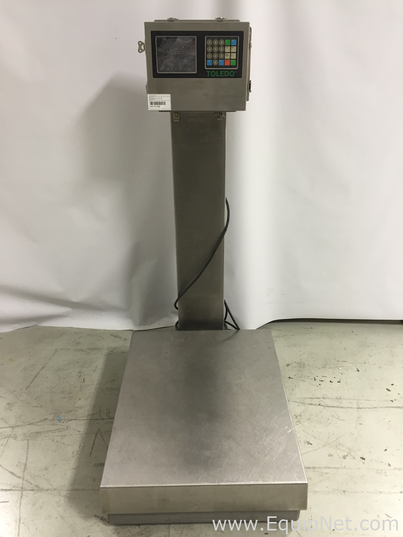 Mettler toledo 8142 floor scale listing 522165 for Scale floor