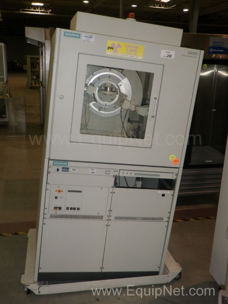 Siemens Model D5000 X-Ray Diffractometer