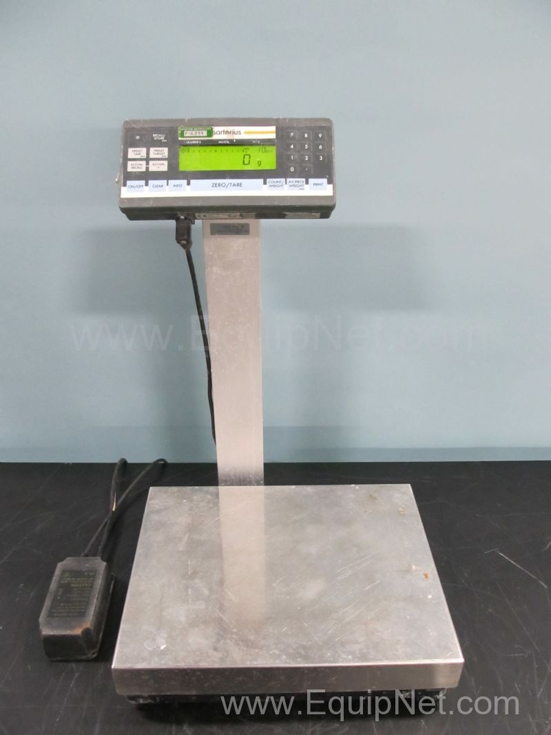 Sartorius qc65ede s digital floor scale listing 491375 for Scale floor