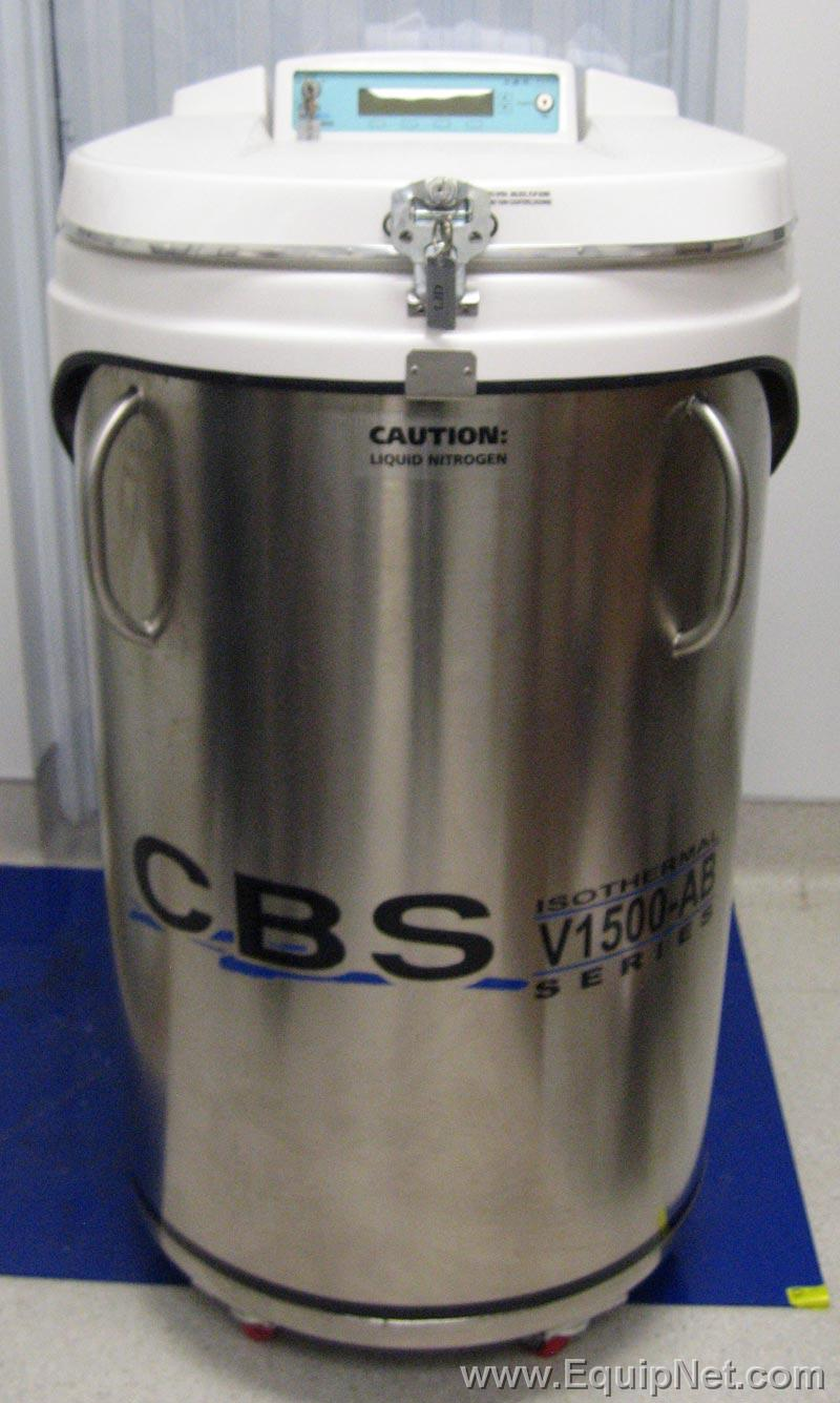 Custom Biogenic System Liquid Nitrogen (LN2) Freezer Model CBS V-1500AB Like New
