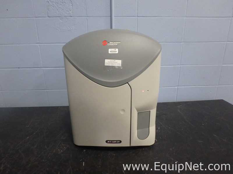 Beckman Coulter Ac T 5 diff CP Hematology Analyzer Listing #667955